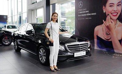 Ca sĩ Giang Hồng Ngọc chi 2,1 tỷ đồng sắm xế sang Mercedes-Benz E 200 2019 a1