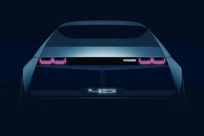 Hyundai đã hé lộ hình ảnh teaser của 45 EV