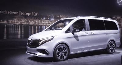 Phiên bản concept Mercedes EQV từng được giới thiệu tại Triển lãm Ô tô Geneva 2019