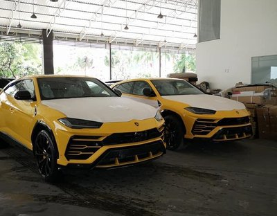 Campuchia hiện có hơn 25 chiếc Lamborghini Urus
