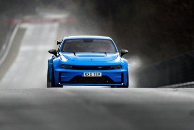 Ô tô Trung Quốc Lynk & Co 03 Cyan Concept lập kỷ lục đường đua Nurburgring a9