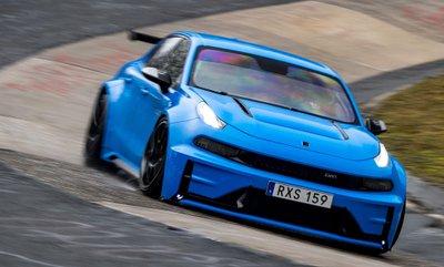 Ô tô Trung Quốc Lynk & Co 03 Cyan Concept lập kỷ lục đường đua Nurburgring a8