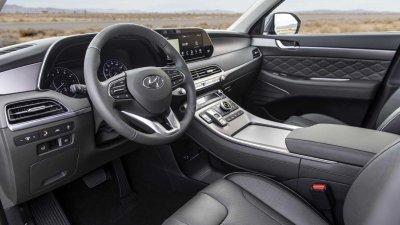 Nội thất xe Hyundai Palisade 2020.