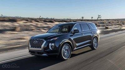 Đầu xe Hyundai Palisade 2020.