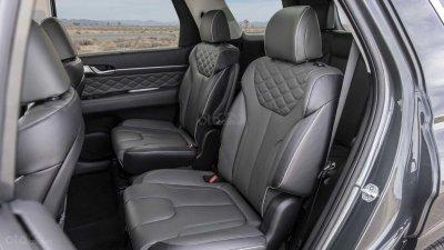 Hệ thống ghế ngồi trên Hyundai Palisade 2020.