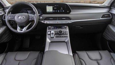 Nội thất Hyundai Palisade 2020.
