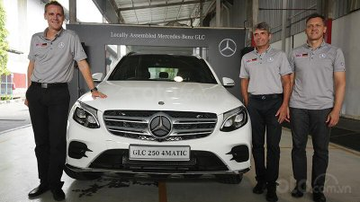 Mercedes-Benz Malaysia xuất khẩu xe sang các quốc gia ASEAN khác