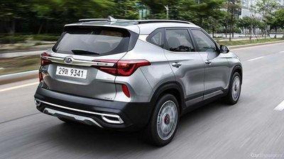 Kia Seltos 2020 chốt giá rẻ bằng một nửa Hyundai Kona a2