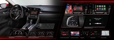 Nội thất Honda Civic 2020.
