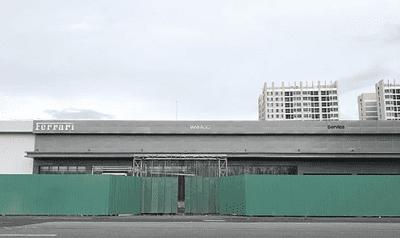 Showroom chính hãng của Ferrari tại Việt Nam đang trong quá trình hoàn thiện.