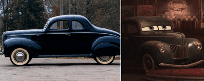 Junior Moon -  Ford Standard Coupe 1940