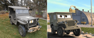 Sarge - Willys Jeep 1942