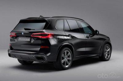 BMW X5 Protection VR6 - góc 3/4 đuôi xe