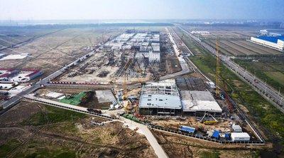 Nhà máy của Tesla tại Trung Quốc