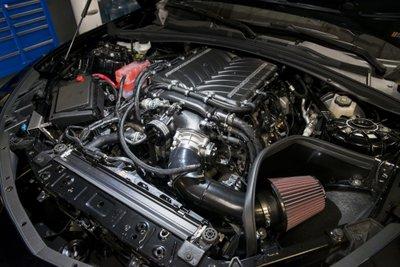 Chevrolet Camaro ZL1 Exorcist sử dụng động cơ V8 tăng áp với hệ thống siêu nạp 2.9L