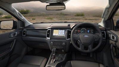 Nội thất Ford Ranger FX4 2020