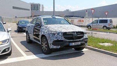 Mercedes-Benz GLE Coupe 2020 chạy thử trên đường phố Đức
