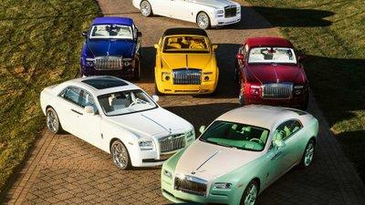 Màu sắc mỗi chiếc Roll-Royce được đặt riêng bởi Michael Fux