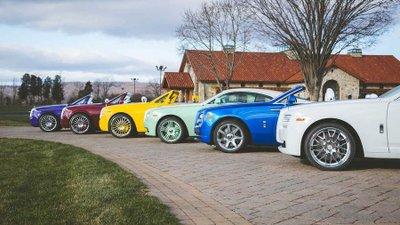 Dàn Roll-Royce có màu sắc độc và lạ của Michael Fux