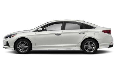 Top 10 xe sedan tiết kiệm nhiên liệu nhất khi chạy trên đường cao tốc - Hyundai Sonata Eco 2019.