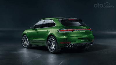 Porsche Macan 2020 Turbosở hữu đường lối tạo hình cuốn hút