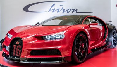 khách hàng phải chi trả tới 3,26 triệu USD để sở hữu Bugatti Chiron Sport.