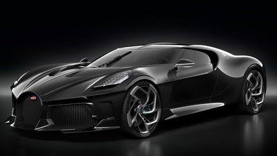 """Bugatti La Voatio Noire """"soán ngôi"""" Rolls-Royce Sweptail trở thành mẫu xe đắt nhất thế giới."""