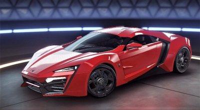 W Motors Lykan Hypersport có giá 3,4 triệu USD.