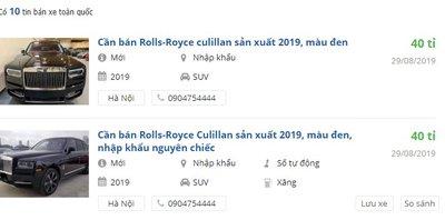 Giá xe Rolls-Royce Cullinan chính hãng rẻ hơn tư nhân tới 8 tỷ đồng - Ảnh 1.