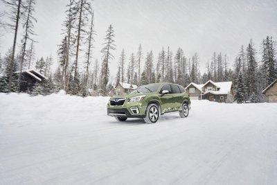Subaru Forester 2020 cập nhật nhiều công nghệ trợ lái hiện đại.