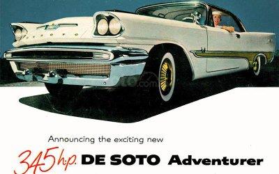 De Soto Adventurer Coupé 1957.