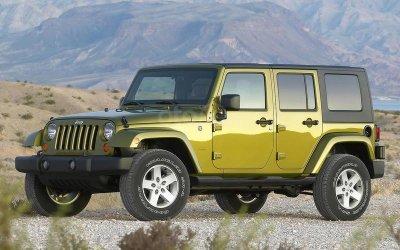 Jeep Wrangler 2005.