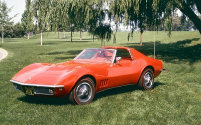 Chevrolet Corvette Sting Ray 1968.