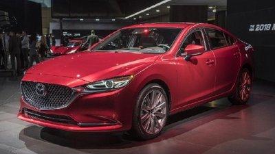 Mazda 6 nâng cấp chuẩn bị ra mắt, đối đầu Camry?.