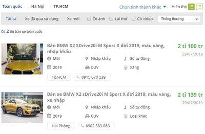 Cơ hội mua xe BMW X2 rẻ hơn hàng chục triệu đầu tháng 9 - Ảnh 1.