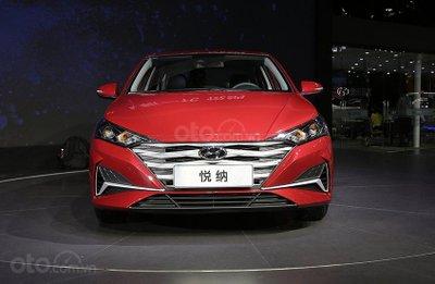 Chính diện đầu xe Hyundai Accent 2020 nâng cấp mới.