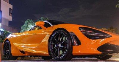 Bộ mâm mới trên McLaren 720S của Cường Đô La có giá từ 2.400 USD mỗi chiếc.