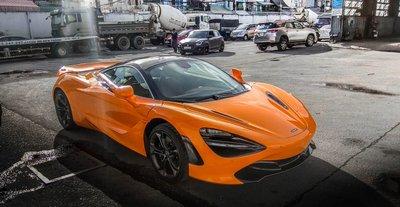 Siêu xe McLaren 720S mới tậu của Cường Đô La hồi tháng 5.