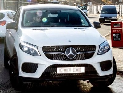 Salah thường lái Mercedes-AMG GLE Coupe