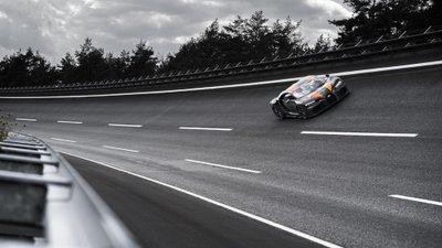 Bugatti Chiron trang bị động cơ 8.0