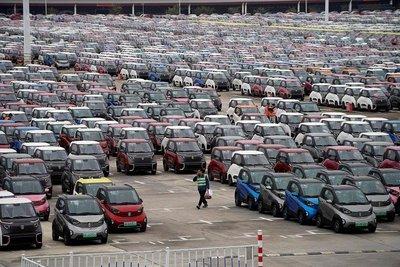 Xe điện tại thị trường Trung Quốc.