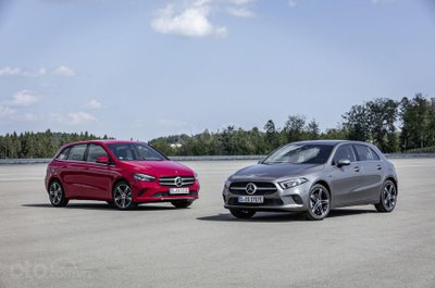 Mercedes-Benz A-Class và B-Class.