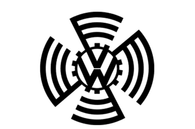 Logo Volkswagen giai đoan 1937-1939.