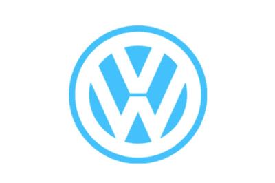 Logo Volkswagen giai đoạn 1989-2000.