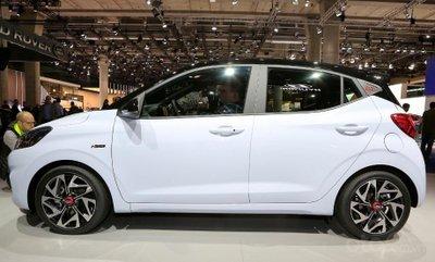 Hyundai i10 N Line gia tăng công suất với 100 mã lực.
