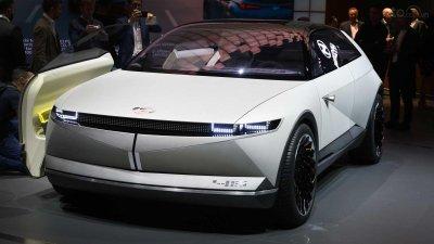 """[Frankfurt 2019] Cận cảnh Hyundai 45 Concept """"bằng xương bằng thịt"""""""