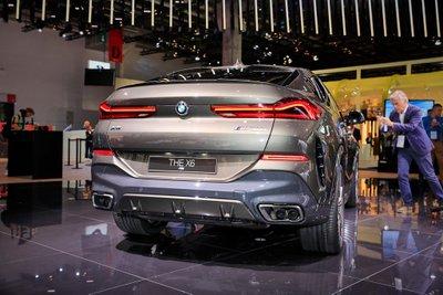 BMW X6 thế hệ mới gây ấn tượng mạnh khi xuất hiện tại triển lãm Frankfurt Motor Show 2019 a2