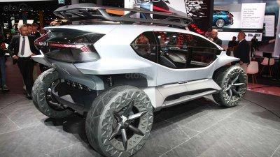 [Frankfurt 2019] Audi AI:Trail Quattro Concept thể hiện các ý tưởng thiết kế táo bạo