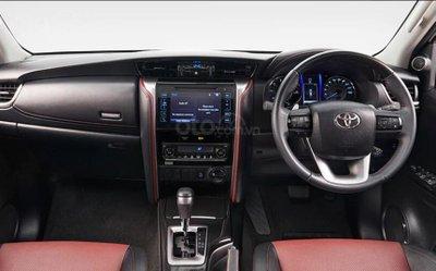 Toyota Fortuner 2020 cũng điều chỉnh nhẹ giá bán