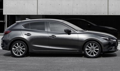Kiểu dáng Mazda 3 hatchback.
